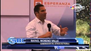 Inaugura Rafael Moreno Valle Planta De Tratamiento En Santa Catarina Los Reyes 05 08 14