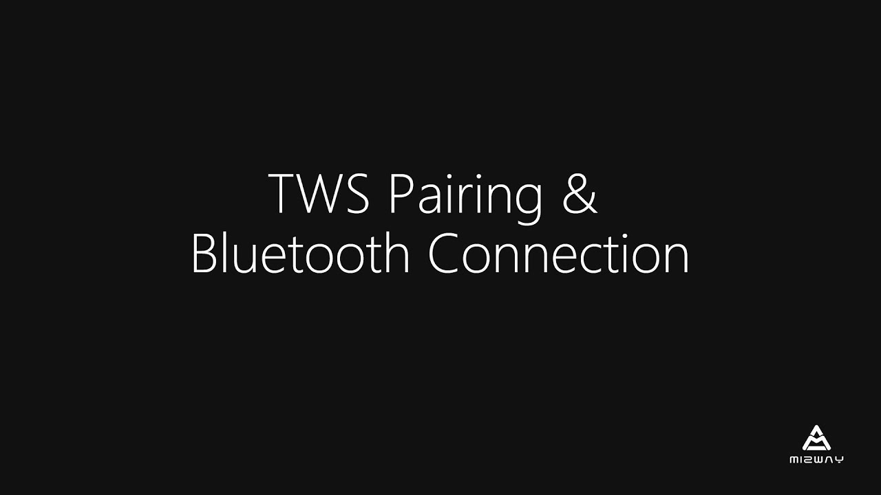 Aibuds User Manual - TWS Pairing & Bluetooth Connection