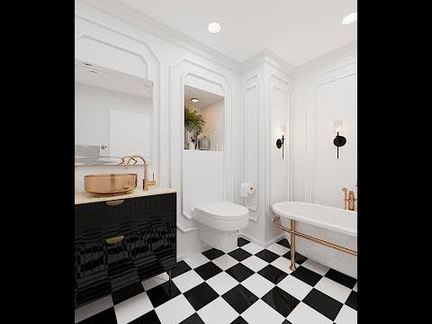 3d Max Interior Design tutorial Modeling+corona render