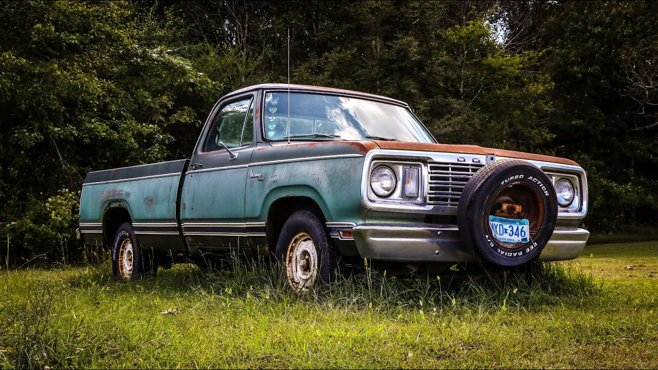 FORGOTTEN Dodge Truck Revival After 12 Years of Sitting!