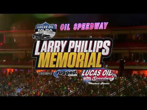 MLRA Larry Phillips Memorial Race at Lucas Oil Speedway - August 31st, 2019