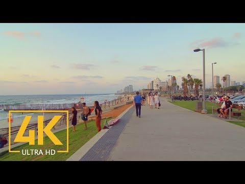 Tel Aviv - Yafo, Israel - 4K City Walking Tour - Short Preview Video