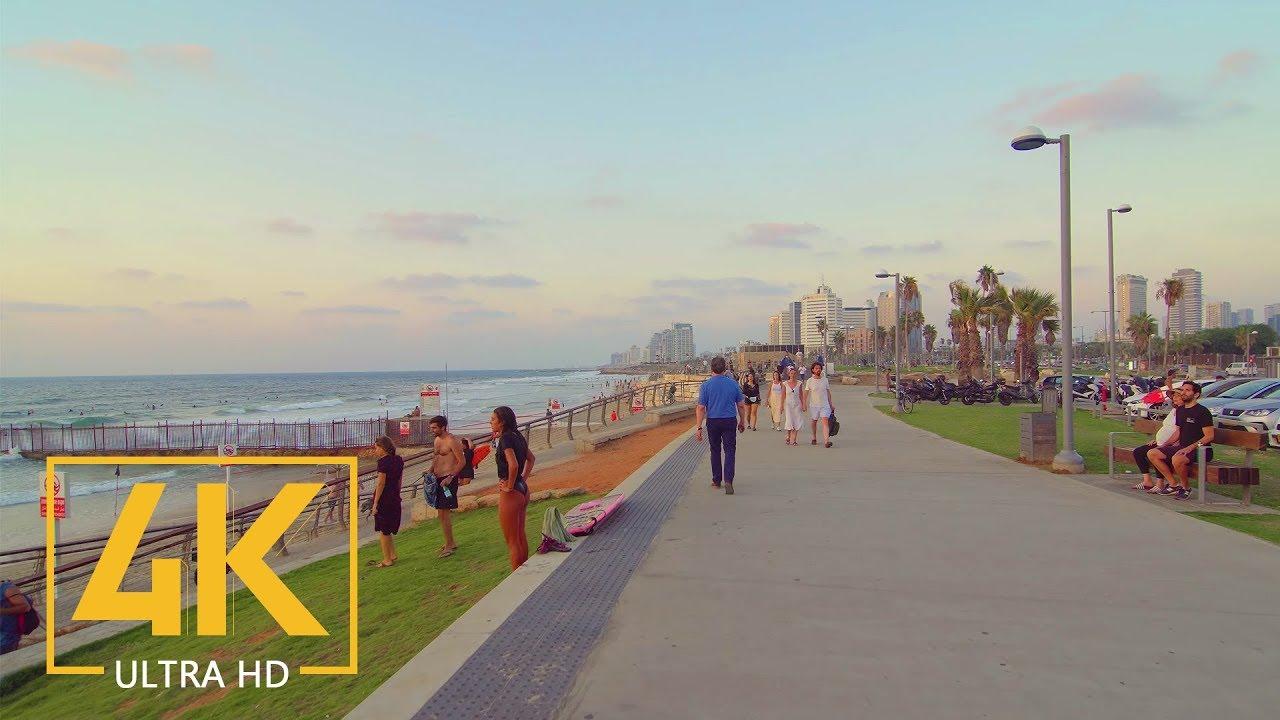 Download Tel Aviv - Yafo, Israel - 4K City Walking Tour - Short Preview Video