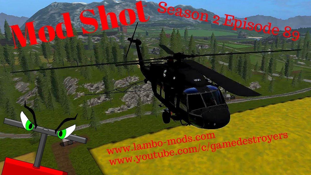 Mod Shot | S2E89 | UH60 Black Hawk Helicopter