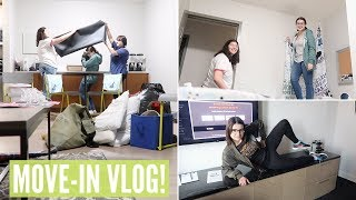 COLLEGE MOVE IN VLOG   Back To Chicago For The Last Time.