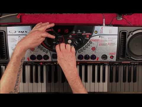 Yamaha DJX 2 Keyboard - A Vintage Classic - Tutorial & Demo Mp3