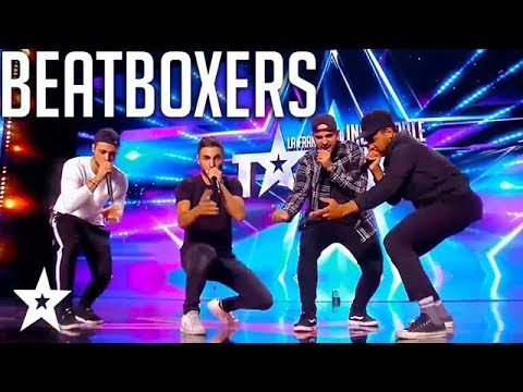 Beatbox Crew Throw Some BEATS on France's Got Talent | Got Talent Global