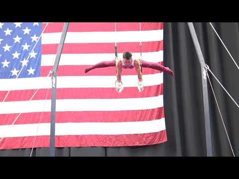 Levi Anderson - Still Rings - 2019 U.S. Gymnastics Championships - Senior Men Day 2