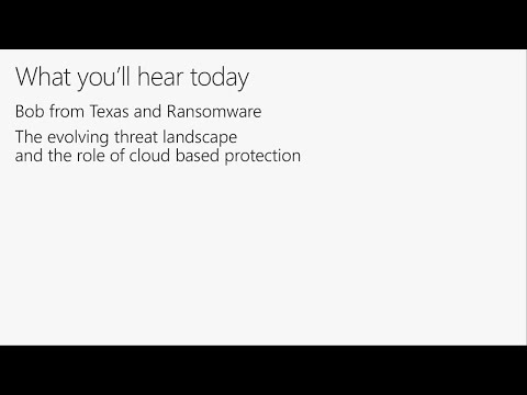 Next-Gen AV: Windows Defender Antivirus unleashed - BRK3063
