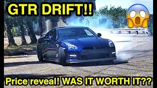 How Much Did my Cheap GTR off Salvage Auction Cost?? FULL PRICE REVEAL AND DRIFTING!