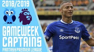Best #FPL Captains Picks For Gameweek 2! Fantasy Premier League 2018/19 Tips! with Kurtyoy! #FPL
