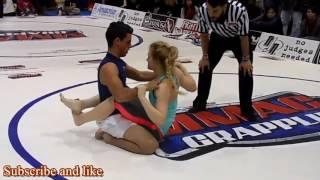 MMA, Cewek vs Cowok. ini Cewek terhebat di 2017. penuh tehnik tingkat tinggi