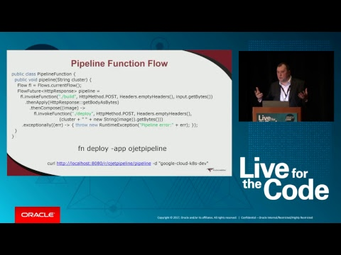 Oracle Code Boston: Technical Sessions: Grand Ballroom C/D