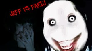 FAVIJ vs JEFF THE KILLER!! - Illusion: Ghost Killer - [in Webcam LIVE]