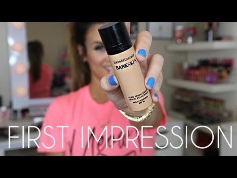 First Impressions: bareMinerals bareSkin Pure Brightening Serum Foundation