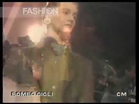 """Romeo Gigli"" Autumn Winter 1989 1990 Milan pret a porter women by Canale Moda"