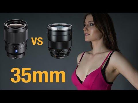Sony Distagon T* FE 35mm f1.4 Vs ZEISS f1.4