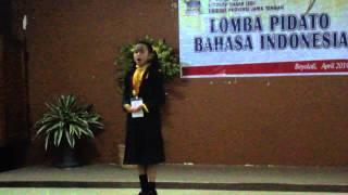 Repeat youtube video Juara 1 Lomba Pidato Tingkat Propinsi Jawa Tengah