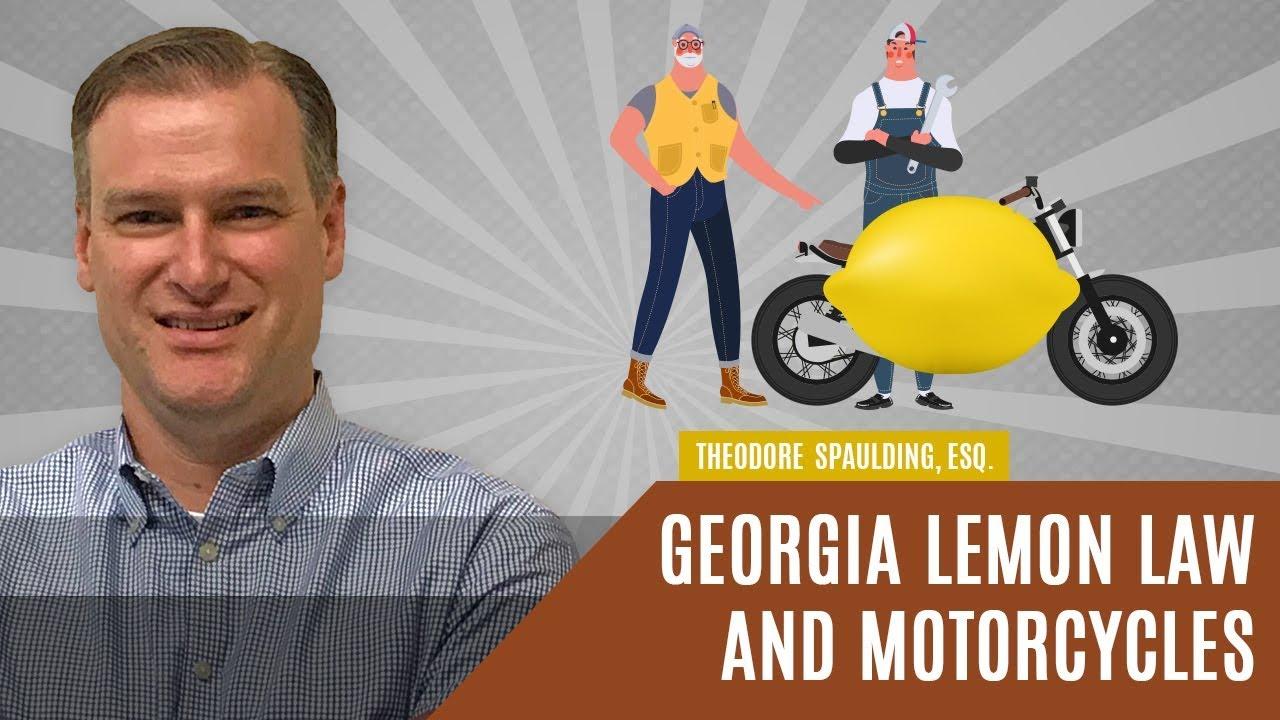 Lemon Law Ga >> Georgia Lemon Law And Motorcycles