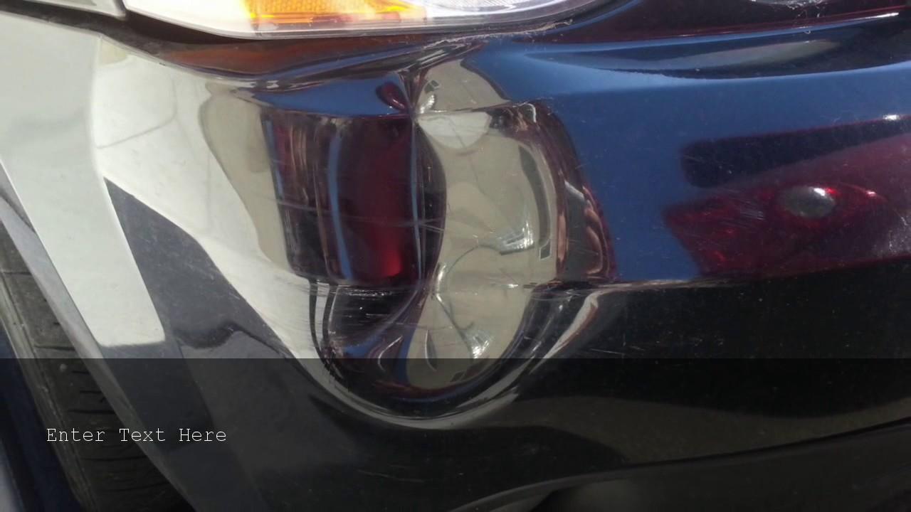 San Juan Capistrano Toyota Bumper Repair   (714) 880 8712