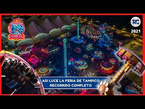 Esta NUEVA FERIA tiene JUEGOS MUY EXTREMOS / Feria Tampico 2021 / Espectaculares García