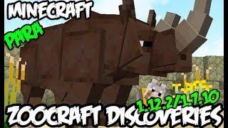 Descargar Mods Zoocraft Discoveries Para Minecraft 1.12.2/1.7.10