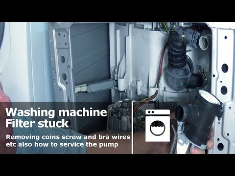 How To Clean Your Bosch Washing Machines Filter Funnydog Tv