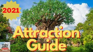 Disney's Animal Kingdom ATTRACTION GUIDE - 2021 - All Rides - Walt Disney World