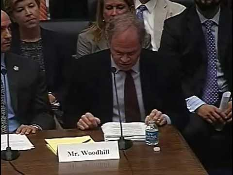 Jim Woodhill Testimony Before US House of Representatives Financial Services Subcomittee