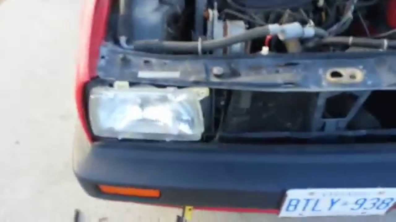 home inverter wiring diagram to the volkswagen mk2 golf jetta removal of grille front bumper