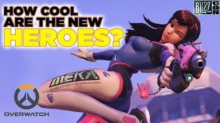 How Cool Are The New Overwatch Heroes?- BlizzCon 2015