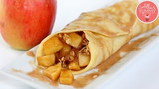 How To Make The BEST Apple & Cinnamon Crepes