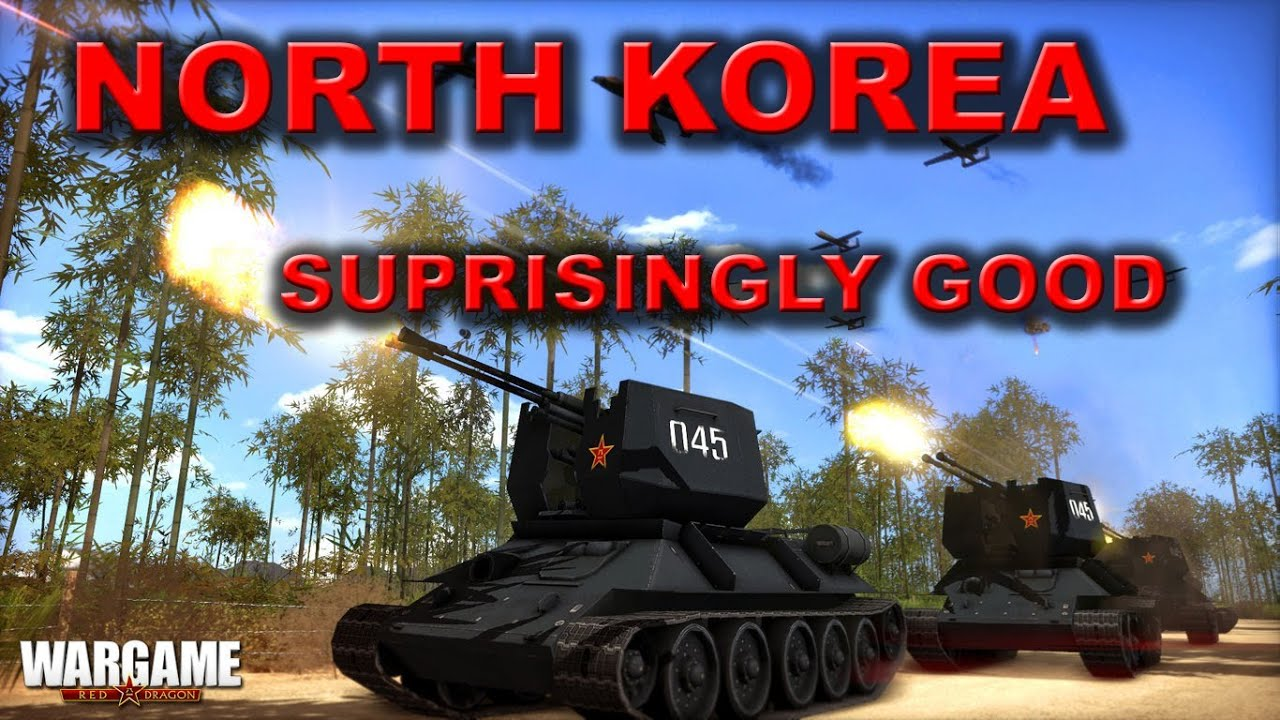 Wargame Red Dragon - North Korea Suprisingly Good! - Multiplayer ...