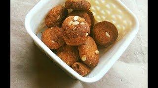 Refined Sugar Free Sorghum Cookies: Eggless, Chocolaty Baking Powder Free Shortbread Biscuits