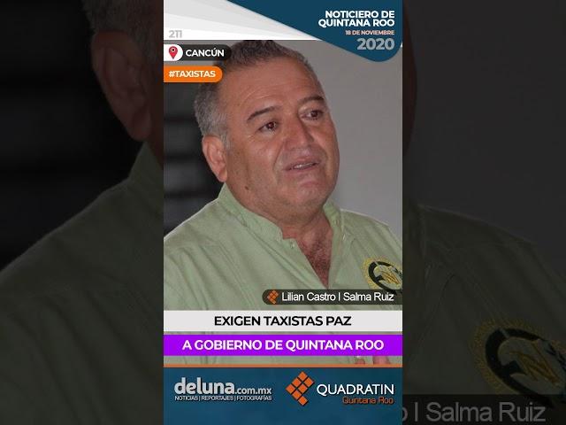 NOTICIERO DE QUINTANA ROO 18 DE NOVIEMBRE 2020
