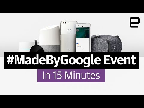 #MadeByGoogle event in 15 minutes