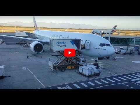 ✈️ Boarding an Emirates Flight at Cape Town International Airport