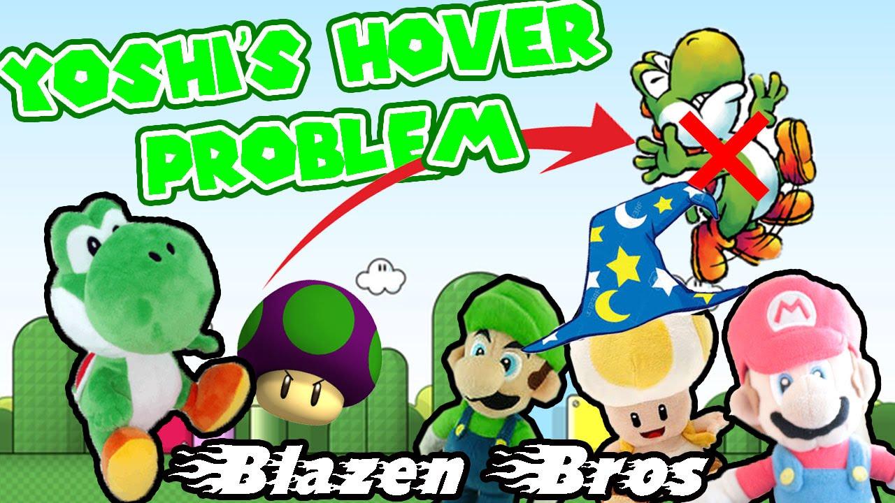 Bb Plush Movie Yoshi S Hover Problem Blazen Bros Yoshi