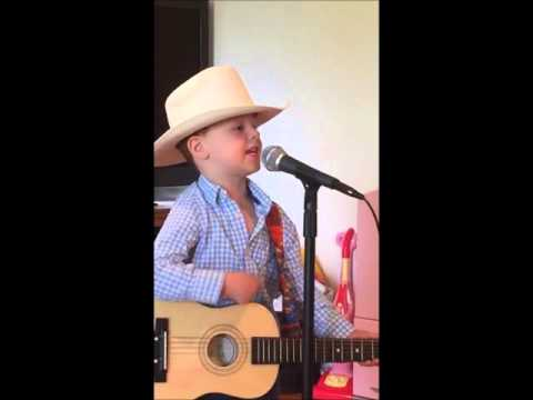 Little Boy Sings George Strait at Three & Four Years Old