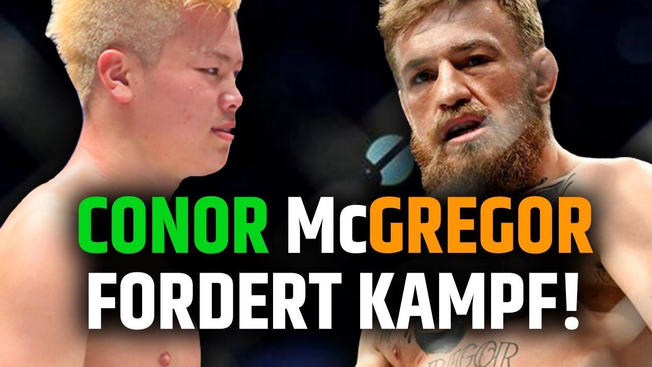 Conor Mcgregor Fordert Kampf Gegen Tenshin Nasukawa