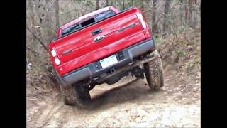 Jeep Wrangler Rubicon Unlimited & Ford SVT Raptor at Spring Creek Off-Road