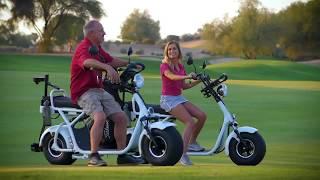 Fat Tire Electric Golf Scooter - InTheHoleGolf.com