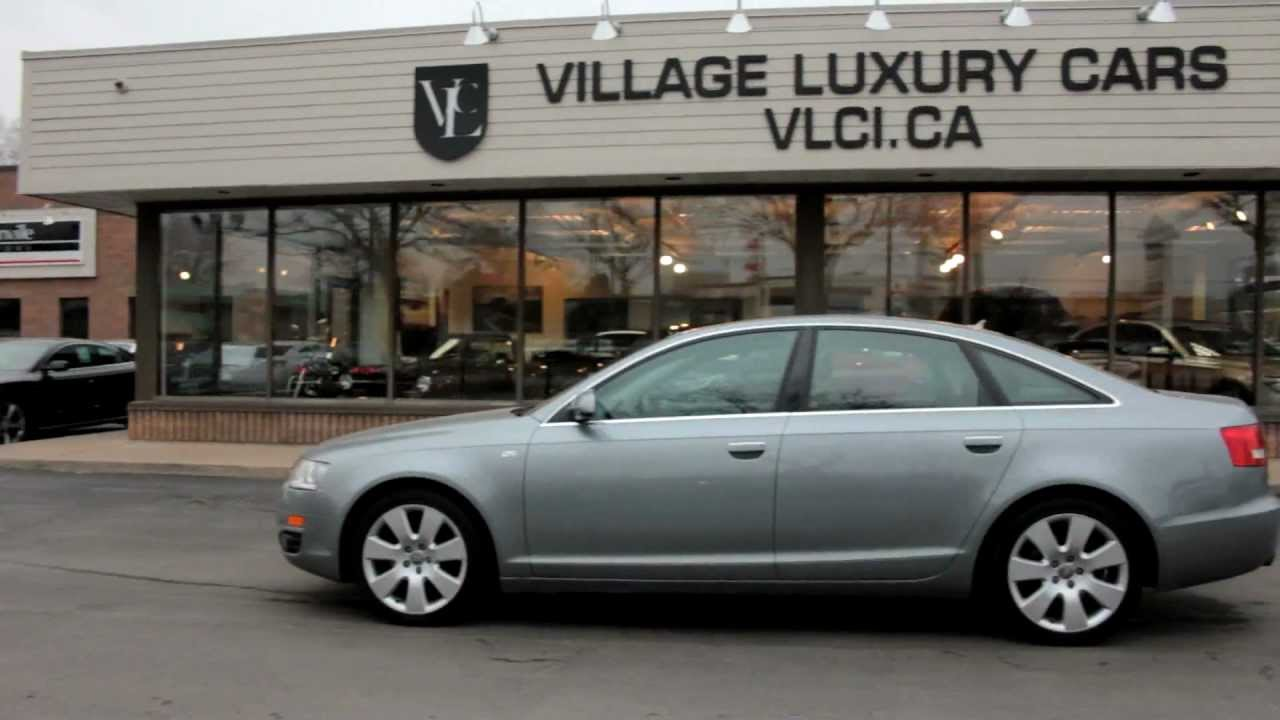 2008 audi a6 3 2 quattro village luxury cars toronto youtube. Black Bedroom Furniture Sets. Home Design Ideas