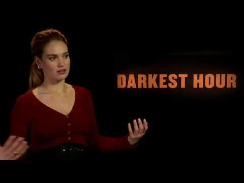 "Lily James (""Darkest Hour"") on PLAN B"
