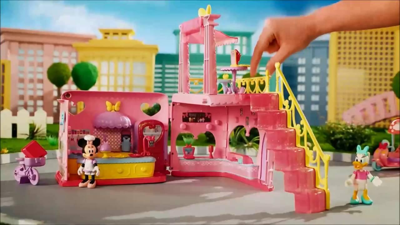 Toys For Restaurants : Smyths toys minnie mouse magic restaurant youtube