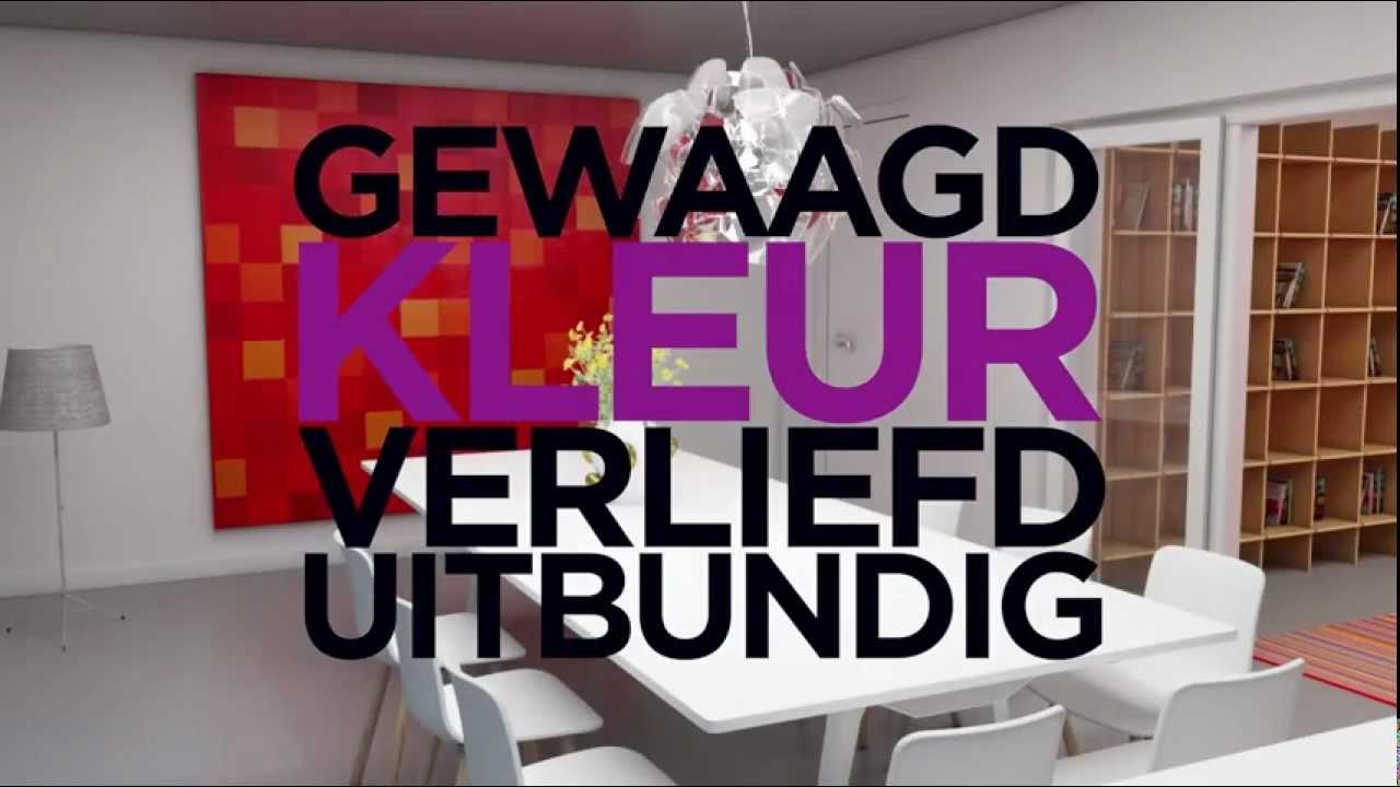 Van Tellingen Interieurs - KLEUR - YouTube