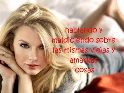taylor swift mean en espa241ol youtube