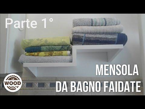 Mensola in legno FAI DA TE | parte 1 | DIY wooden shelf