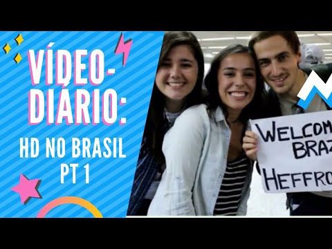 VÍDEO-DIÁRIO: Heffron Drive no Brasil 2015 ! [Parte 1]