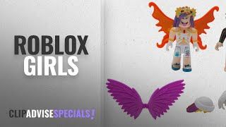 Top 10 Roblox Girls [2018]: Roblox Celebrity Fashion Icons Mix & Match Figure 4 Pack Action